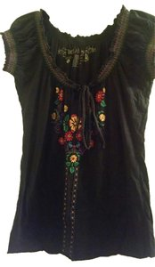 L.O.L. Vintage T Shirt Black with multi-colored accents