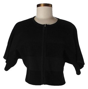 St. John Zippered Cardigan