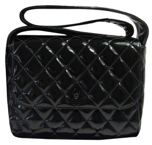 Chanel Quilted Choco Shoulder Bag