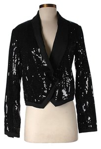 BCBGeneration Nwt Sequin Black Blazer