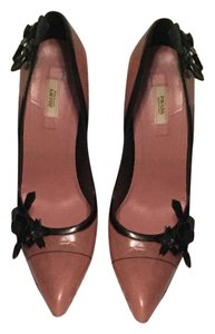 Prada Sexy Sophisticated Leather Pink Pumps