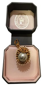 Juicy Couture NEW! JUICY COUTURE ADORABE RARE GOLD & PEARL HEDGEHOG CHARM!