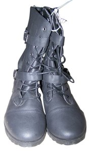 Twisted Shoes Trooper Ankle 8.5 Black Boots
