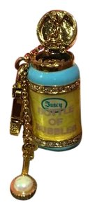 Juicy Couture NWT!! JUICY COUTURE DARLING & RARE GOLD & PEARL BUBBLE BOTTLE CHARM!
