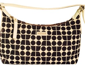 Kate Spade Satchel in White And Black