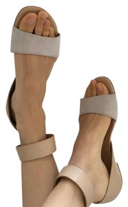 Emporio Armani Tan and light grey Sandals