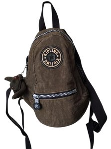 Kipling Monkey Charm Water-repellant Backpack