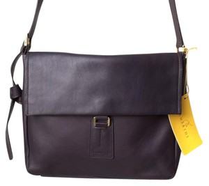 Lamarthe Structured Leather Shoulder Bag