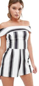 New Look Stripe Off The Playsuit Dress
