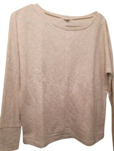 Gap Cream Color Great Sweatshirt Sweatshirt