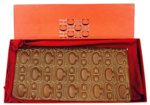Carolina Herrera Brown Clutch