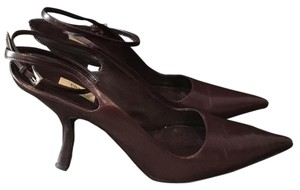 Prada Prunga (plum) Pumps