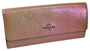 Coach COACH Hologram Leather Soft Wallet
