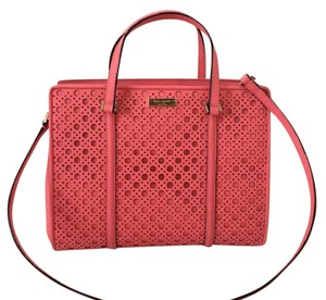 Kate Spade Romy Tote Satchel in Flammingo