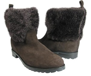 Kate Spade Ankle chocolate brown Boots