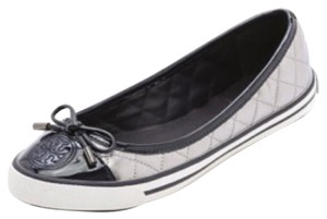 Tory Burch Navy blue and silver Flats