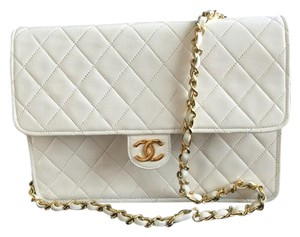 Chanel Cc Logo Quilted Flap Shoulder Bag