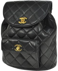 Chanel Shoulder Wallet Backpack