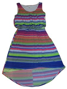 Sangria short dress MULTICOLOR on Tradesy