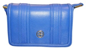 Tory Burch New With Leather Small Easy Carry Cross Body Bag
