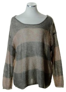 Free People Boatneck Stretch Knit Long Sleeve Sweater