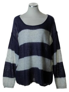 Free People Stretch Knit Long Sleeve Sweater