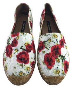 Dolce&Gabbana Espadrille Floral Mules