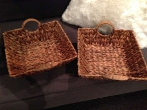 Brown Two Baskets Other