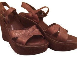Kork-Ease Brown Wedges