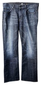 7 For All Mankind Women's Jean Denim Boot Cut Jeans-Medium Wash