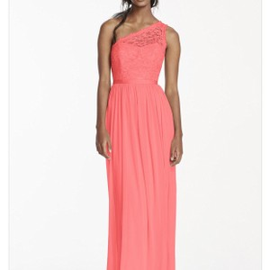 David's Bridal Parfair/Coral Dress