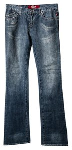Rock & Republic & Dark Wash Regular Fit Boot Cut Jeans-Medium Wash