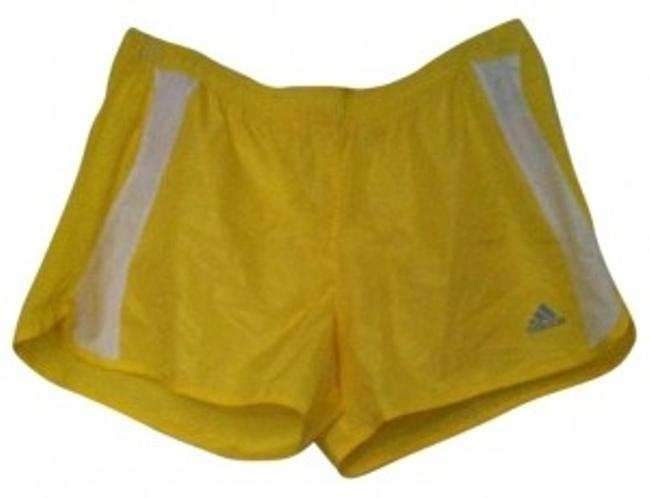 Preload https://item3.tradesy.com/images/adidas-neon-yellow-activewear-shorts-size-12-l-32-33-186267-0-0.jpg?width=400&height=650