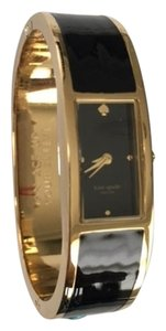 Kate Spade New with Tags! Kate Spade Black Carousel Stainless Steel Bangle Watch