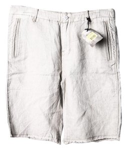 ROGUE STATE Mens Short Cargo Jeans-Light Wash
