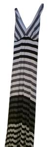black white Maxi Dress by Red Haute