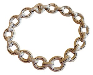 Dior Christian Dior Vintage Pave Necklace