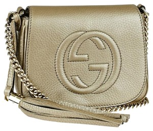 Gucci Leather Chain Soho Shoulder Bag