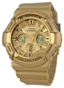 Casio G-Shock GA-200GD-9ACR Men's Gold Strap Watch New In Box