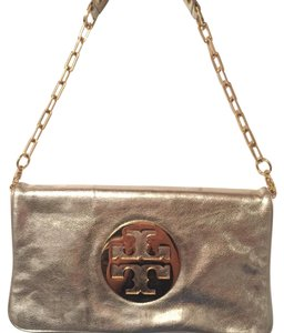 Tory Burch Gold Metalic Clutch