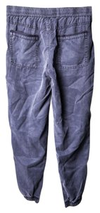 yfb clothing Violet/blue Womens Cuffed Ankle' Trouser/Wide Leg Jeans-Medium Wash