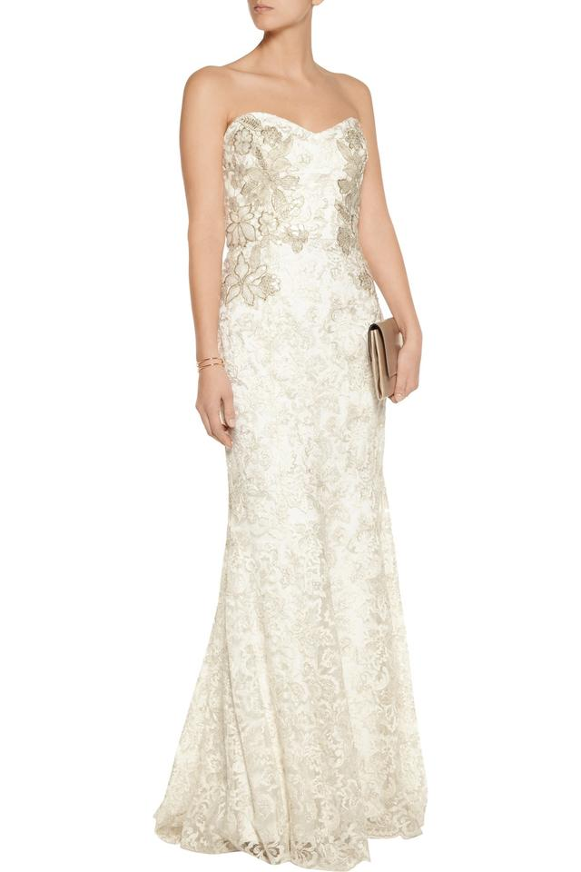 marchesa notte embellished tulle gown wedding dress