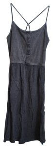Mossimo Supply Co. short dress gray on Tradesy