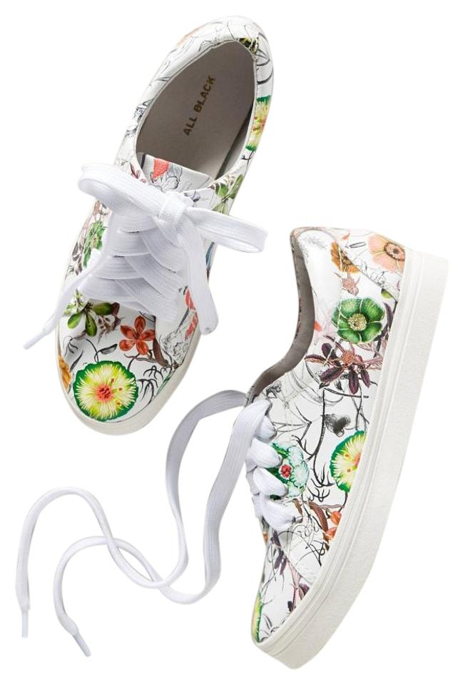Anthropologie Multicolor Presidio Floral Sneakers Sneaker From All Black Sneakers Floral 30b07c