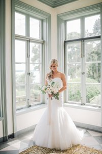 Private Collection Strapless Mermaid Wedding Dress