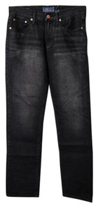 Lucky Brand Mens Denim Straight Leg Jeans-Dark Rinse