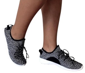 Unbranded Black Fabric Fashion Sneakers Black Athletic