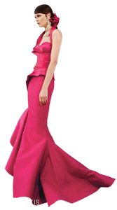 Fouad Sarkis Mermaid Long Evening Gown Ball Gown Dress
