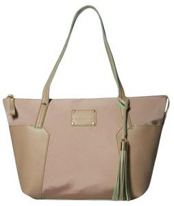 Big Buddha Shoulder Tote in Beige