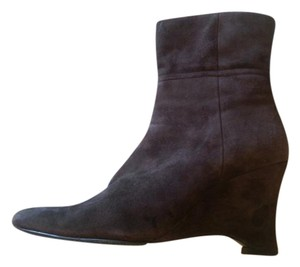 Valerie Stevens Leather Brown Boots